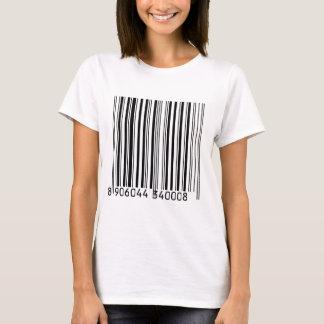 Camiseta Códigos de barras