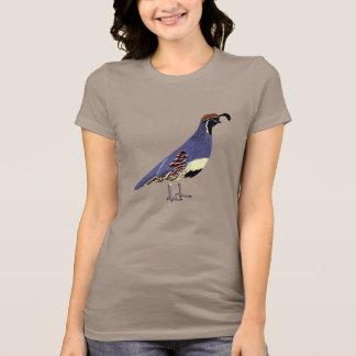 Camiseta Codorniz de BennuBirdy Gambel