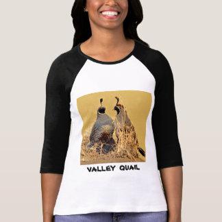 Camiseta Codorniz do vale (Califórnia)
