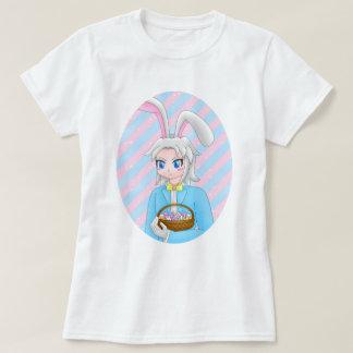 Camiseta coelhinho da Páscoa do anime