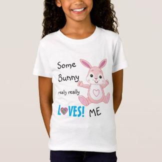 Camiseta Coelho bonito do amor