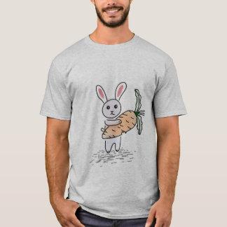 Camiseta Coelho com uma cenoura