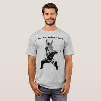 Camiseta Coelho de Kung Fu