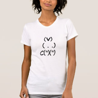 Camiseta Coelho do computador
