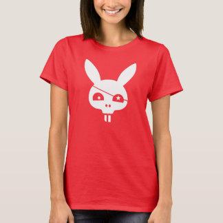 Camiseta Coelho do crânio do pirata com EyePatch