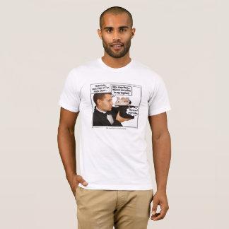 Camiseta Coelho no mágico Meme do chapéu