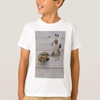 Camiseta Coelho & ovos em uma bacia