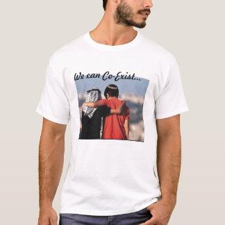 Camiseta Coexiste o t-shirt