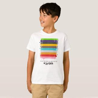 Camiseta Cofre forte comigo o t-shirt do menino da bandeira