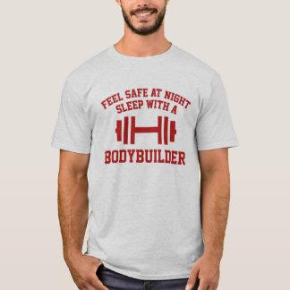 Camiseta Cofre forte da sensação no sono da noite com um