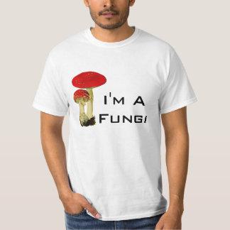 Camiseta Cogumelo engraçado eu sou uma chalaça dos fungos