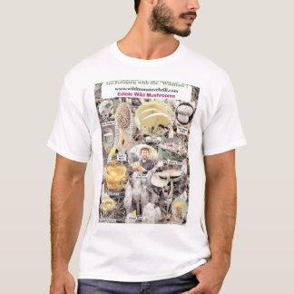 Camiseta Cogumelos selvagens comestíveis