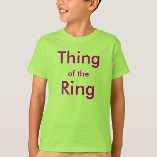 Camiseta Coisa do anel