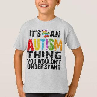 Camiseta Coisa do autismo