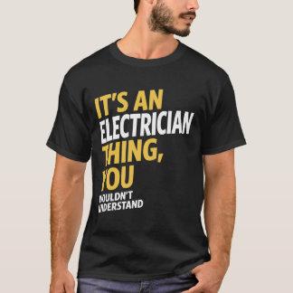 Camiseta Coisa do eletricista