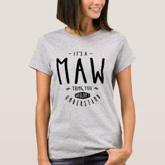Camiseta Coisa do Maw