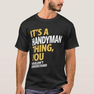 Camiseta Coisa do trabalhador manual