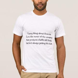Camiseta Coisa engraçada sobre América…