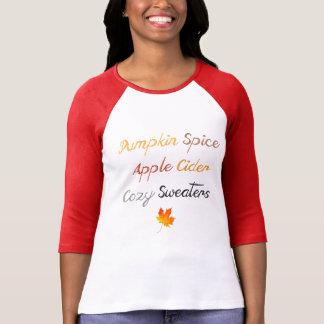 Camiseta Coisas ao amor sobre a queda