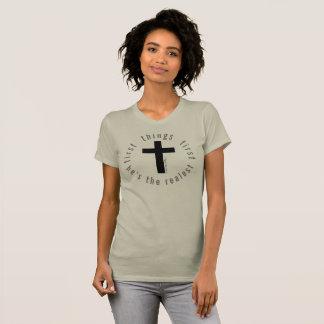 Camiseta Coisas primeiro 72marketing religioso de Jesus do