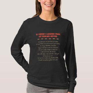 Camiseta Coisas que engraçadas eu aprendi de meu setter