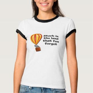 Camiseta Colado no t-shirt da terra