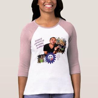Camiseta Colagem #1 do aniversário
