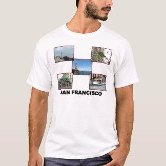 Camiseta Colagem #2 de San Francisco