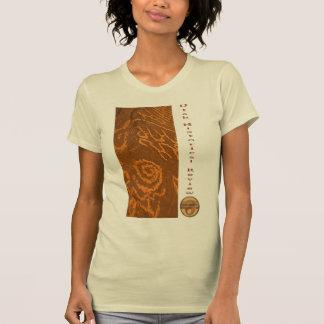 Camiseta Colagem da arte da rocha de UHR