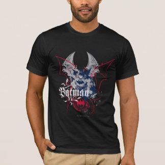 Camiseta Colagem da asa de Batman