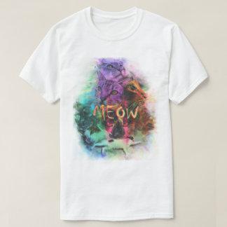 Camiseta Colagem do gato