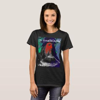 Camiseta Colagem dos meios mistos do gênio de Leonardo da