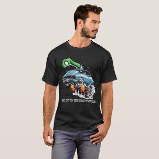 Camiseta Cole-o à competição! Hot rod azul
