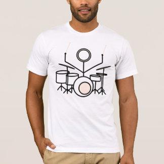 Camiseta Cole-o ao T dos cilindros