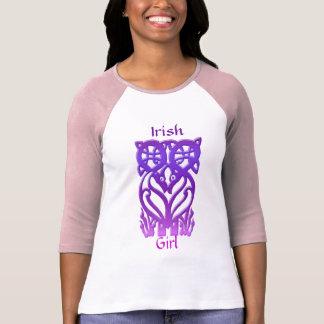 Camiseta Coleção celta do pássaro da fantasia