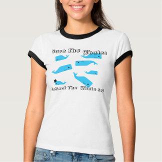 Camiseta Coleção da baleia