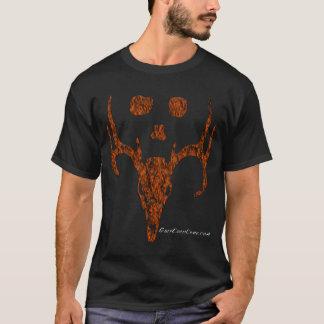 Camiseta Coleção da cabeça dos cervos de Camo