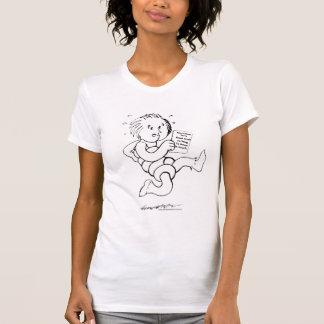 Camiseta Coleção daqui até maio Angelking Cuidado-UM-Grama
