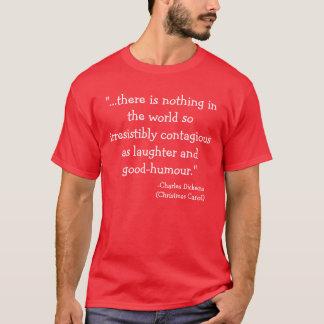 Camiseta coleção de Scrooge do riso-