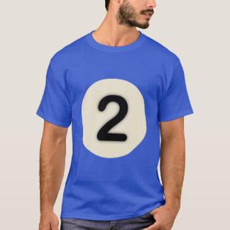 Camiseta Coleção do Nove-Ball: 2 (homens)