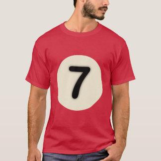 Camiseta Coleção do Nove-Ball: 7 (homens)