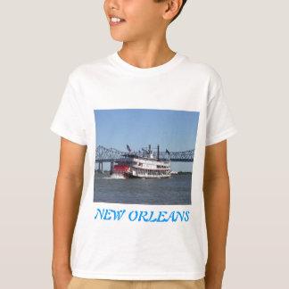Camiseta Coleção do roupa do veículo com rodas da pá