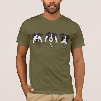Camiseta Coleção do Tag de cão: Nenhum mau