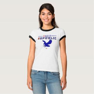 Camiseta Coleção do time do colégio da república de Eagle