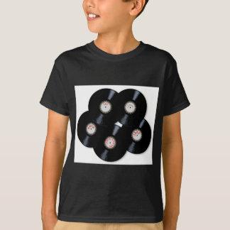 Camiseta Coleção do vinil
