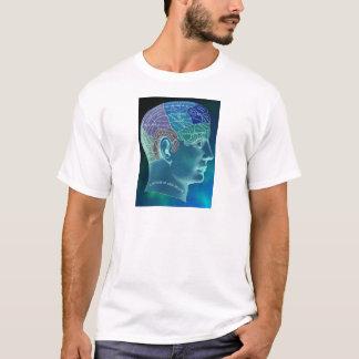 Camiseta Coleção oculto - frenologia