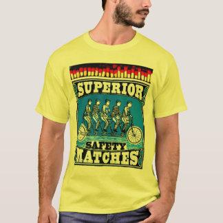"""Camiseta Coleção """"Safety Matches"""" - Superior - Mod. 01"""