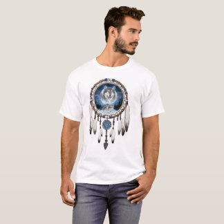 Camiseta Coletor ideal com fundo do lobo