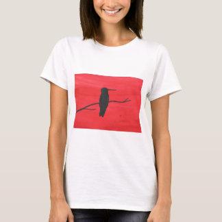 Camiseta Colibri no vermelho