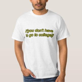 Camiseta colleg